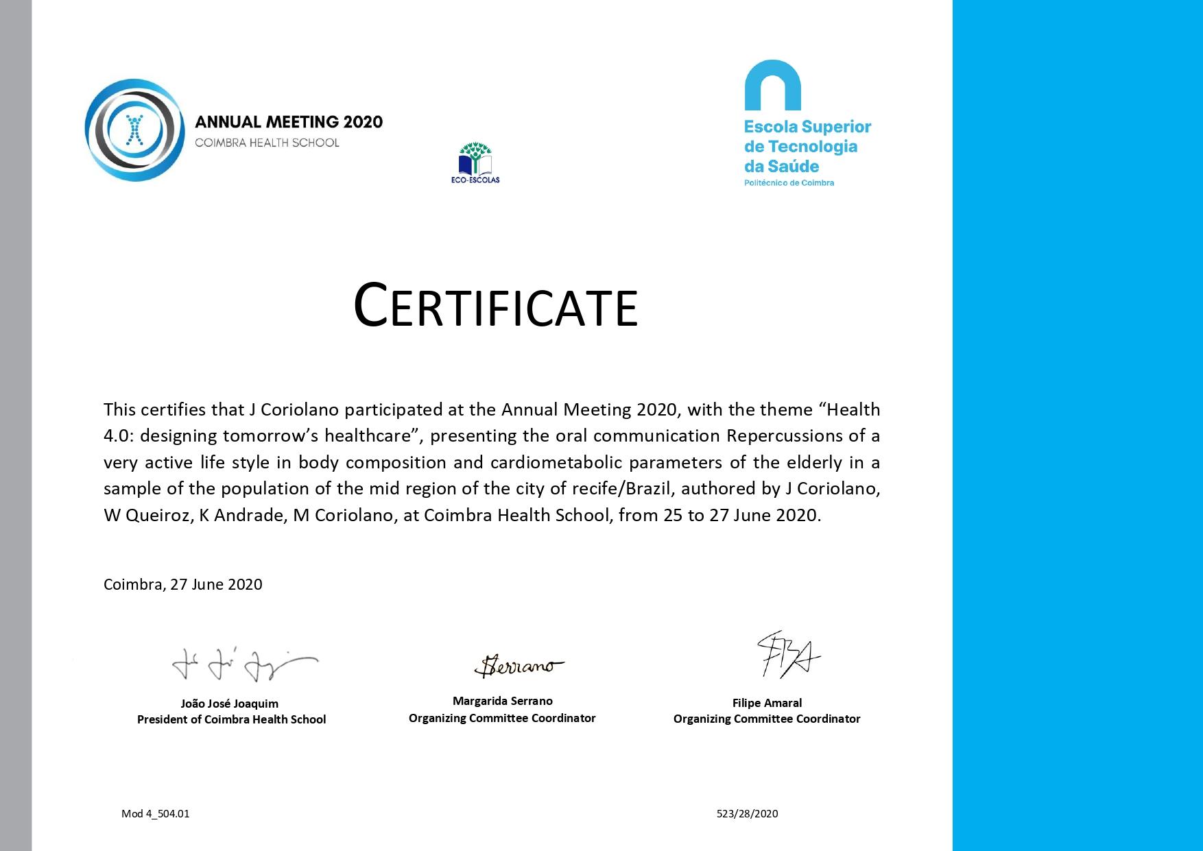 Comissão de Saúde e Qualidade Vida do CREF12/PE tem estudo publicado por uma das maiores Universidades da Europa